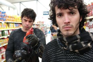 Flight of the Conchords, singers Bret Mckenzie and Jermaine Clement
