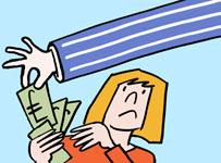 Bank notes stolen