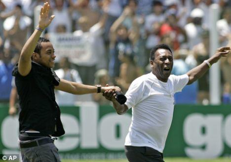 Robinho and Pele