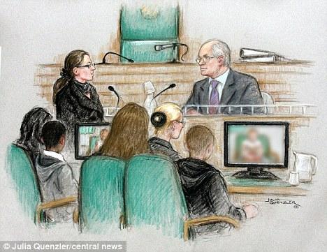 Rape trial