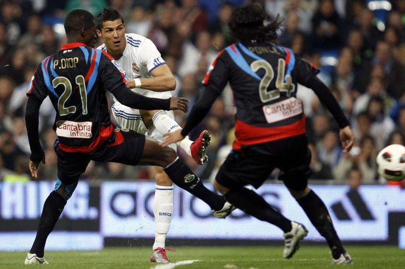 Ronaldo third