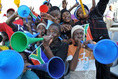 AY44542388South African fan