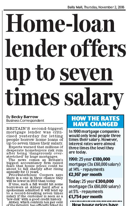 Daily Mail, November 2, 2006