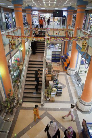 AY51367170The new Gaza Mall