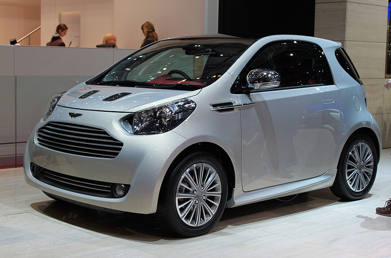 Exceptional In Fact, The U0027Aston Martin Cygnetu0027 Is Not An Aston Martin At All But A  Toyota, Specifically A Rebadged, Pimped Up Special Edition Of Its Weird IQ.