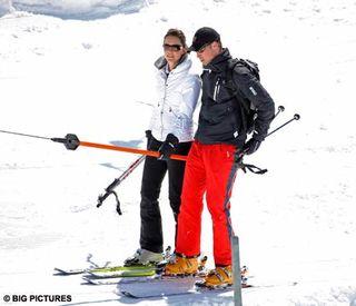 Wills kate ski