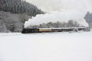 AY54719236A steam train is