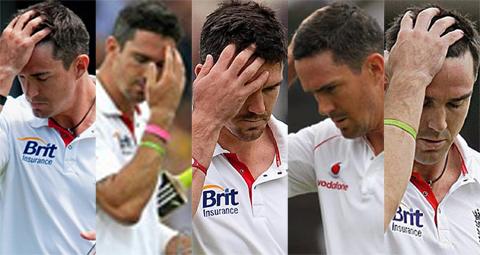 Kevin Pietersen dismissals