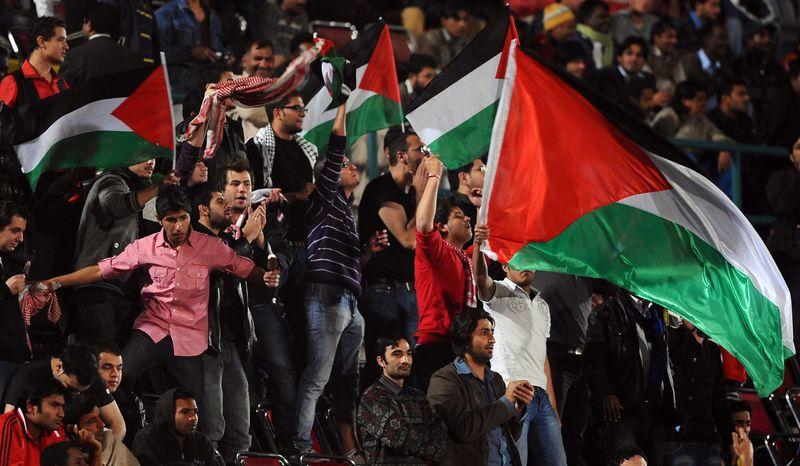 Palestine fans