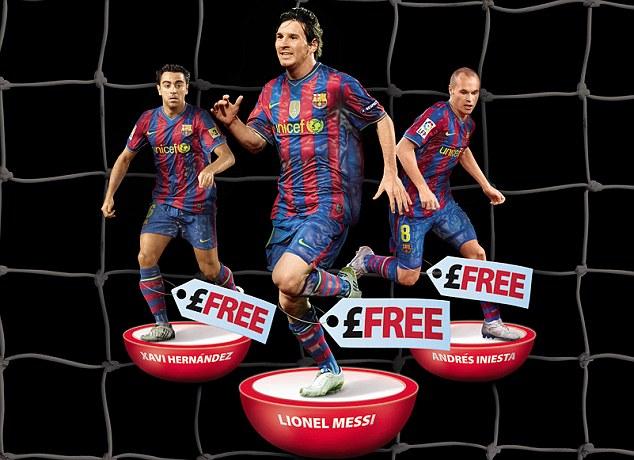 Messi graphic