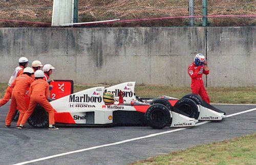 Senna and prost japan 89
