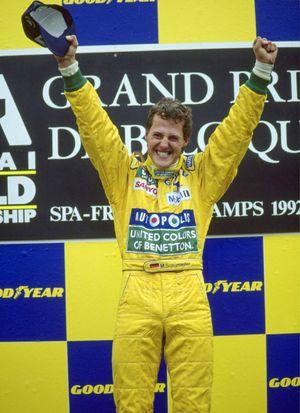 Schumacher Belgium 1992