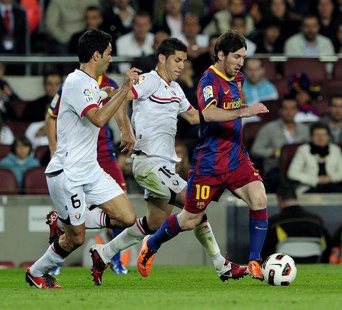 Messi runaway