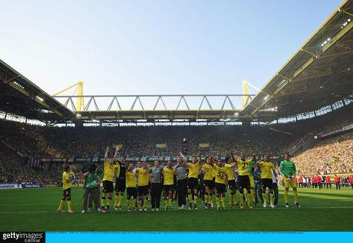 Dortmund cele again