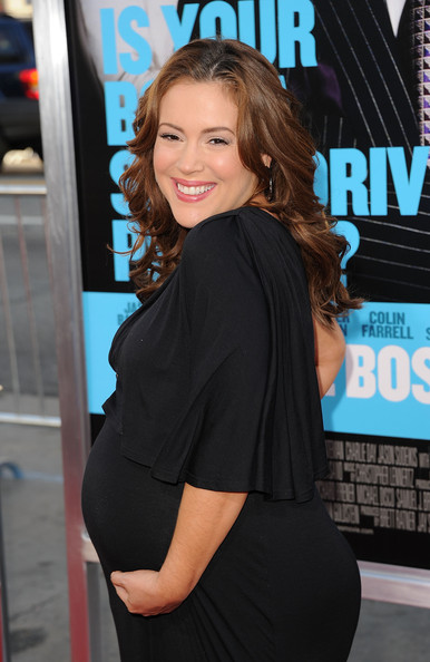 ACTION-PACKED PREGNANCY: MOTHER-TO-BE ALYSSA MILANO SHOWS NO