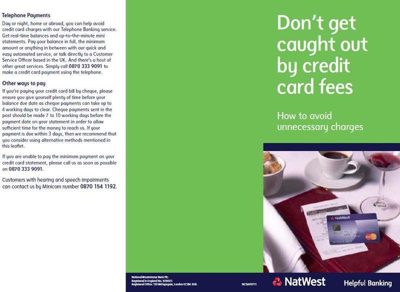 Natwest leaflet 1