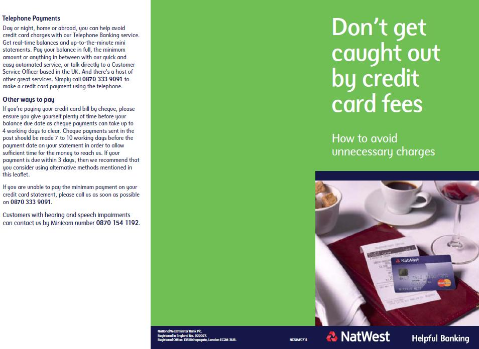 order a paper statement natwest
