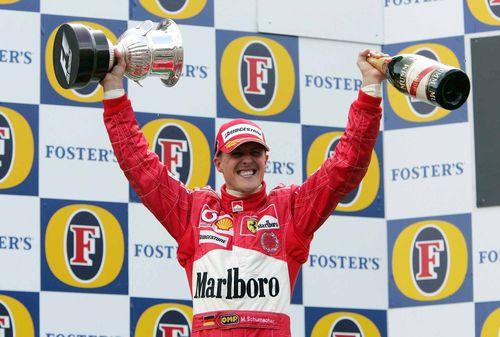Schumacher Belgium 2004