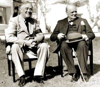 FDR and Churchill