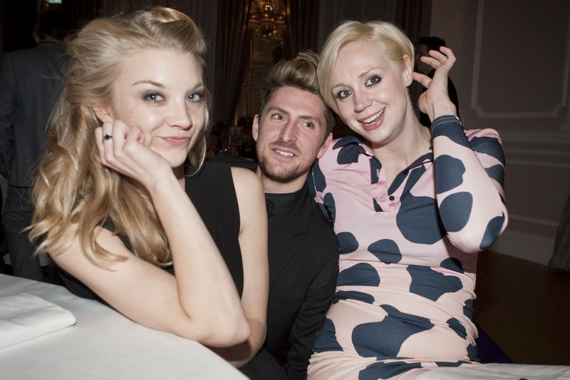 Natalie Dormer Henry Holland and Gwendoline Christie