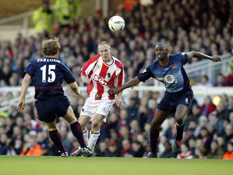 Farnborough  Arsenal FA Cup