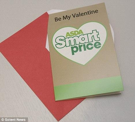 Asda Valentines Card