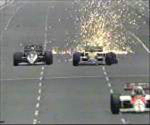 Australia Nigel Mansell grab
