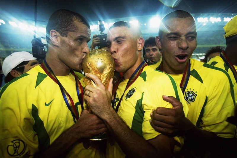 2Brazil winning the World Cup in 2002