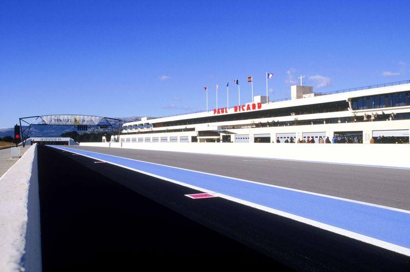 1Paul Ricard circuit in France