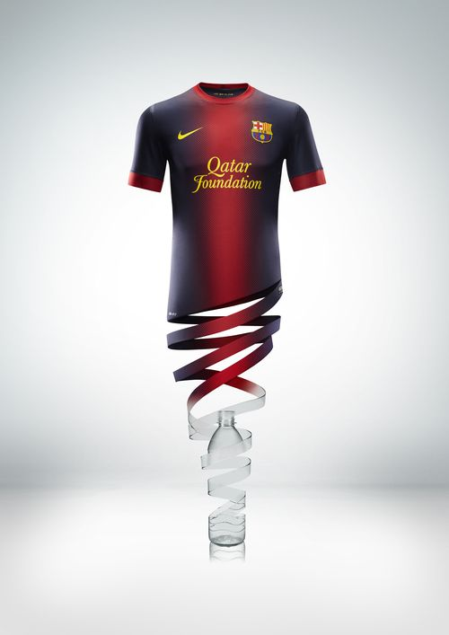 sale retailer 9c478 ea722 Barcelona kit 2012/13 - picture special - Mail Online - World ...