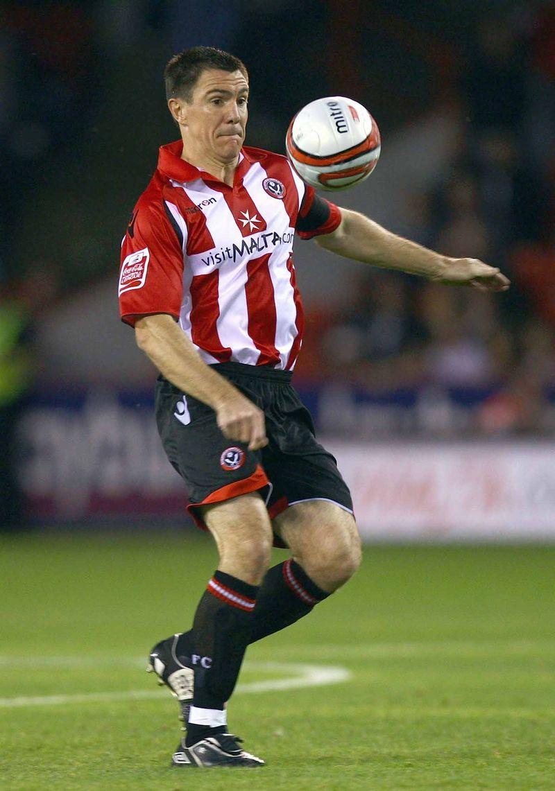 Chris Morgan  sheffield United
