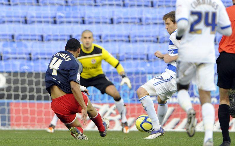 Stevenage goal