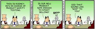 Dilbert - swearing