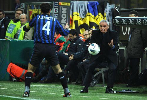 AY81016352Inter Milan coach