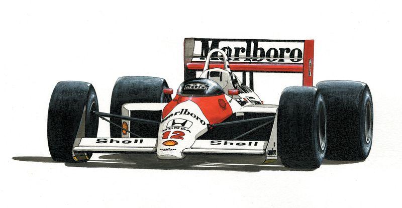1988 McLaren MP4_4