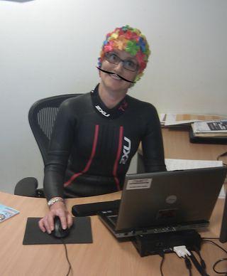 At desk 3