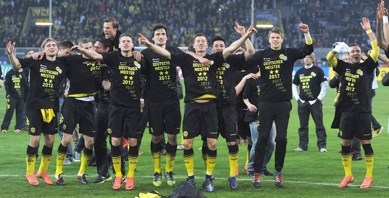AY83867249Dortmund players
