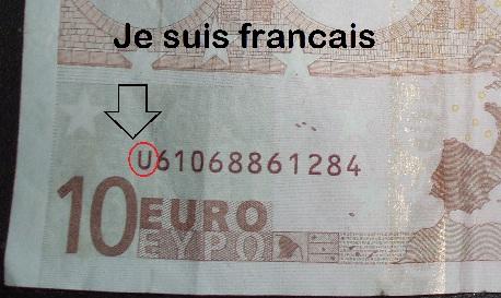 French euro shown