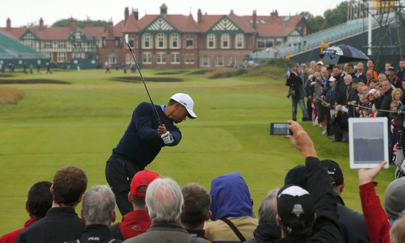 Tiger Woods Lytham