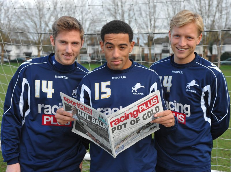 (L to R) James Henry, Liam Feeney, Josh Wright