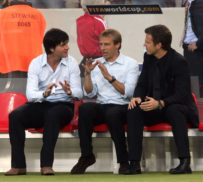 Klinsmann and Loew