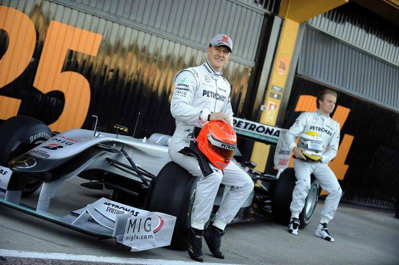 Schumacher back in 2010
