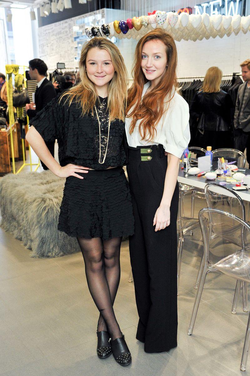Amber Atherton and Olivia Grant