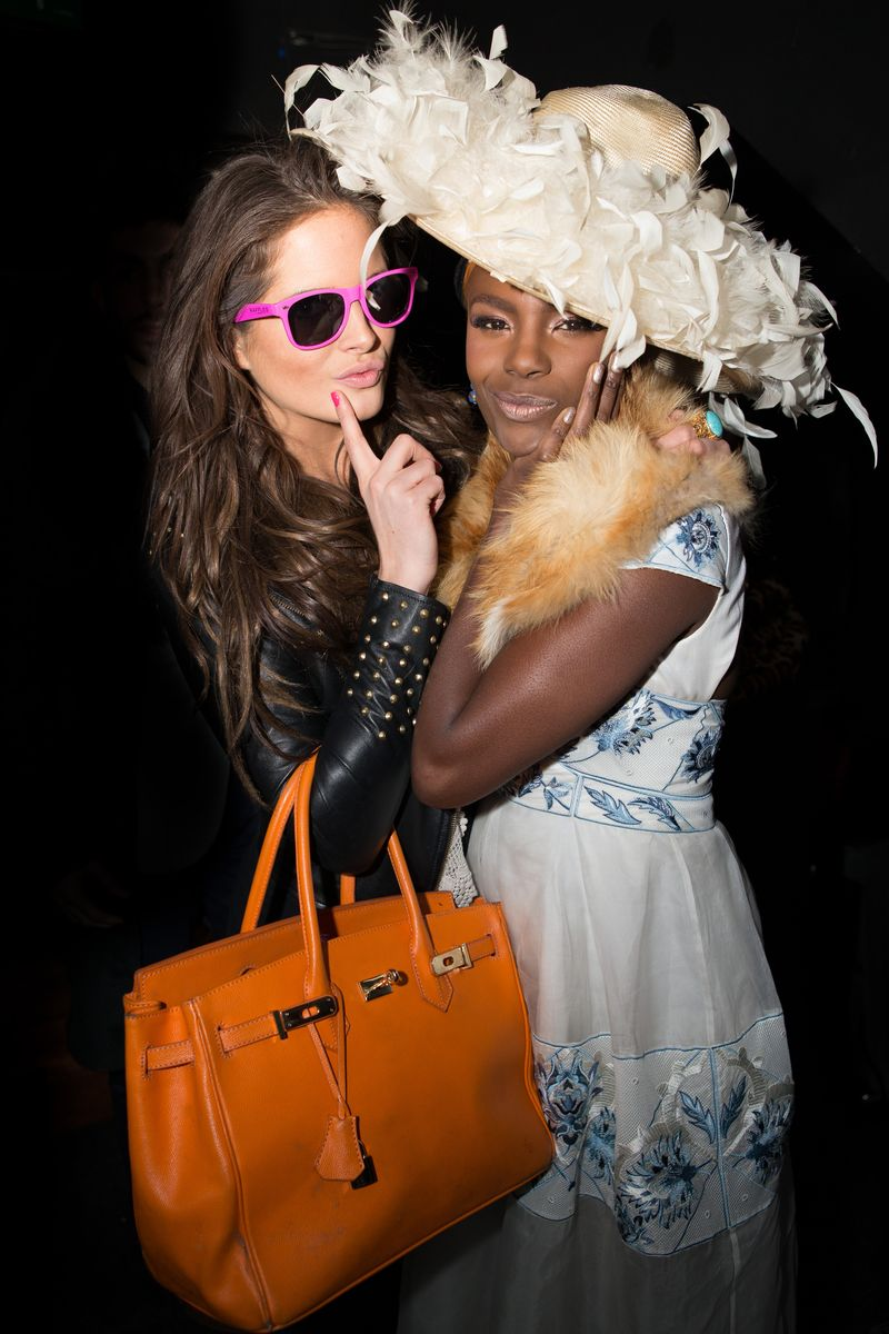 Binky Felstead and Shingai Shoniwa