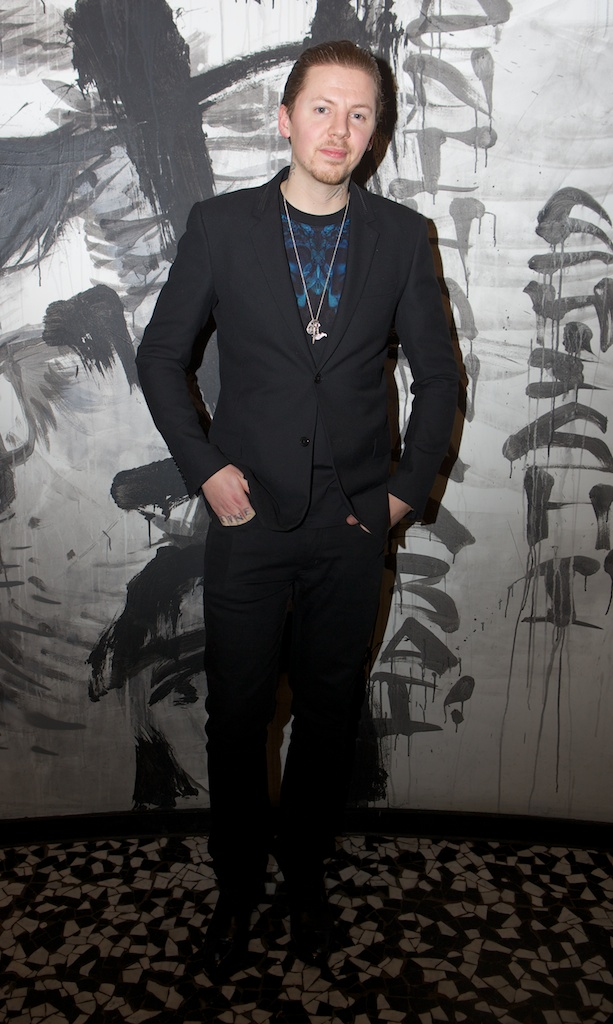 Professor Green at Esquire BBB party in assosciation with Johnnie Walker Gold Label