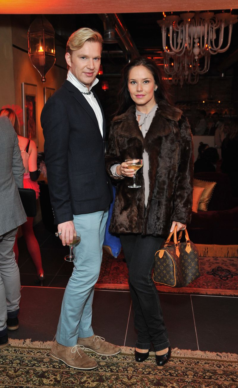 Henry Conway attends the Baku magazine drinks reception to celebrate the launch of Cellar 164 - an intimate arts focussed space beneath Baku re
