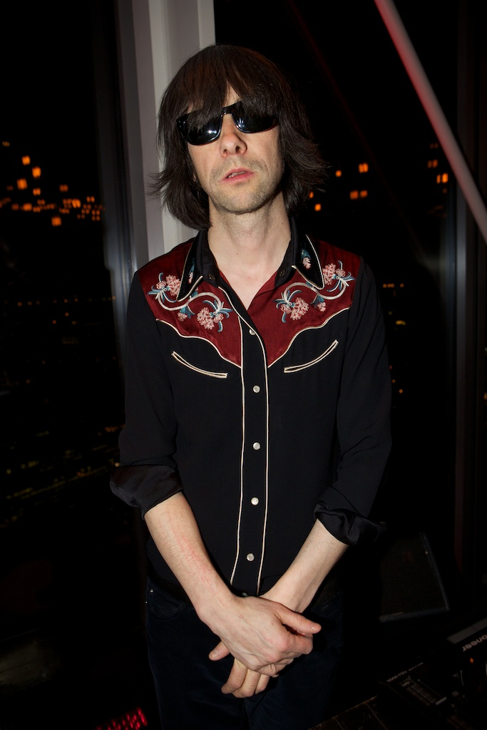 Bobby Gillespie at Esquire BBB party in assosciation with Johnnie Walker Gold Label