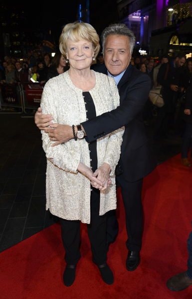 Dame Maggie Smith and Dustin Hoffman