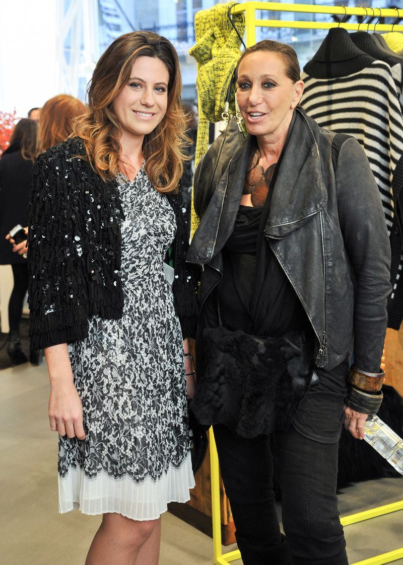 Donna Karan and Francesca Versace (2)