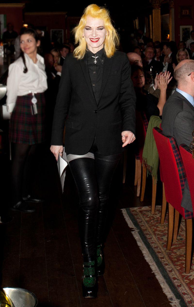 Pam Hogg ABERDEEN_ASSET_MANAGEMENT_GREAT_SCOT_AWARDS_2012-0483